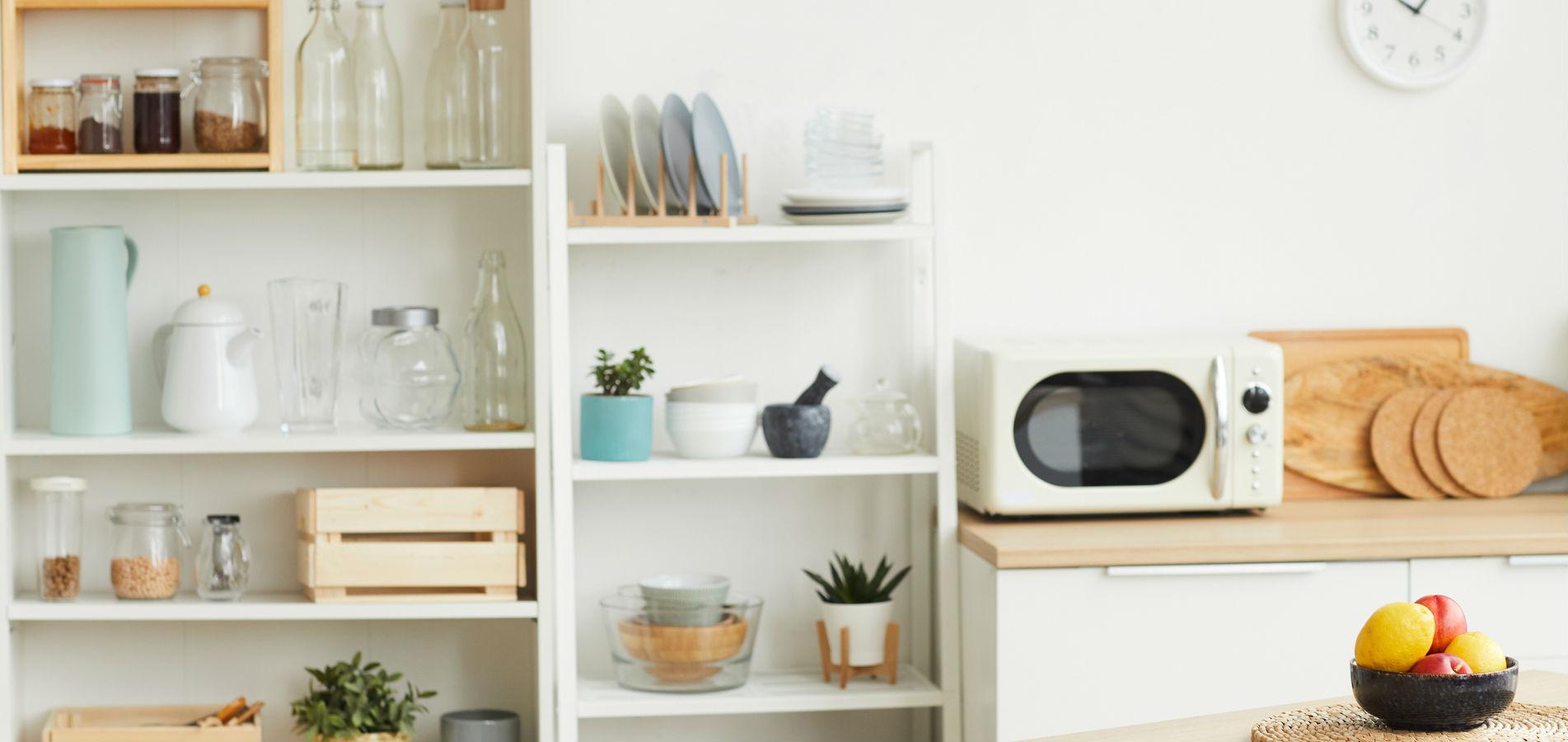 Ordenar tu cocina con estantería metálica
