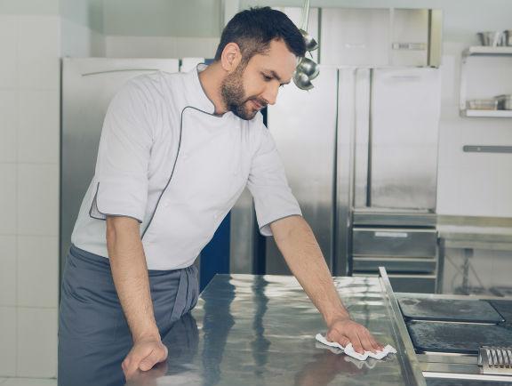 Cocina profesional.