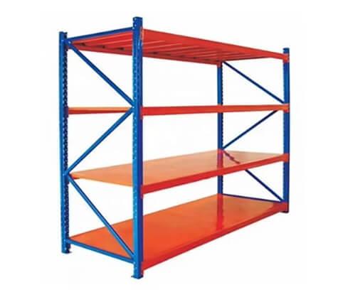 Estantería mini rack 120X45 cm 4 niveles 500 Kilos