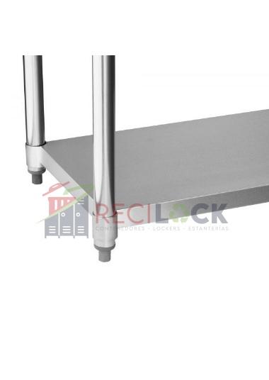 Meson central acero inox 150 cm
